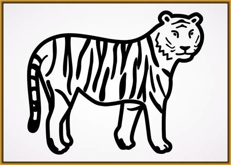 imagenes de tigres faciles para dibujar fotos de tigres para dibujar infantil imagenes de tigres