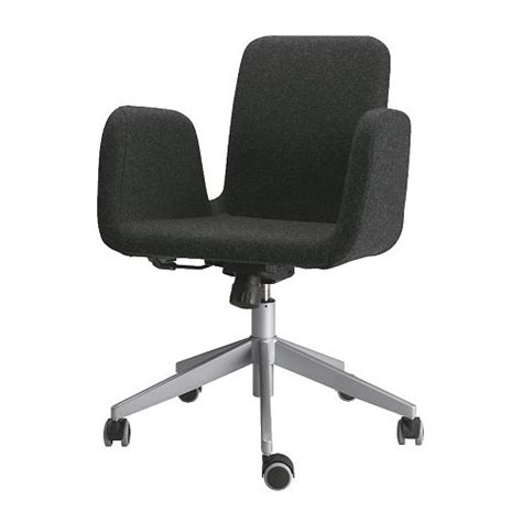 patrik swivel chair ullevi gray ikea