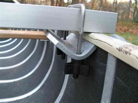 How To Fix A Swy Backyard by How To Make Canoe Stabilizers Canoe Stabilizer Pictures