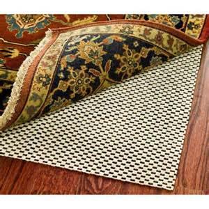 Rug Pad For Hardwood Safavieh Special Rug Pad For Hard Floor Walmart Com