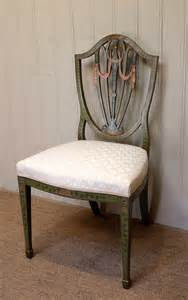 painted back chairs painted sheild back chair antiques atlas