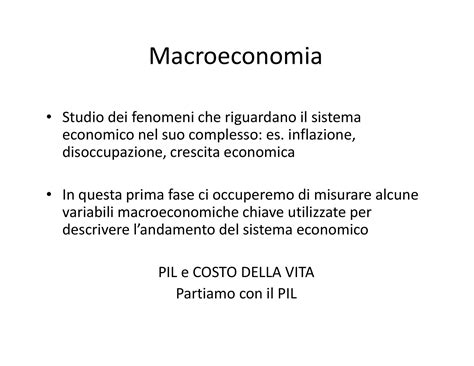 dispense macroeconomia imposte e beneficio totale dispensa di economia