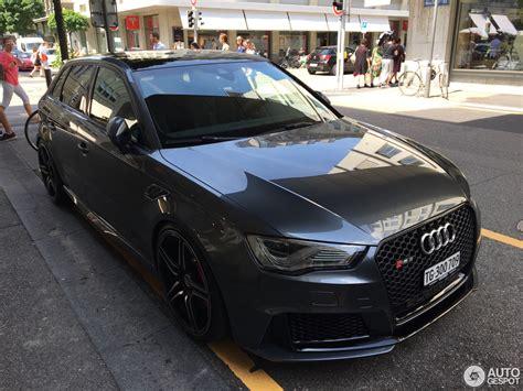 Audi Rs3 Abt by Audi Abt Rs3 Sportback 8v 6 Juni 2017 Autogespot