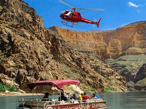 grand canyon west rim bus, heli & boat from vegas