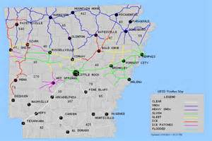 us driving map weather arkansas road conditions uatv