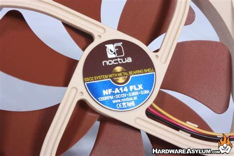 noctua nf a14 flx 140mm case fan noctua nf a14 flx and uln 140mm case fan review fan