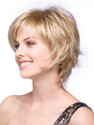 short blonde wigs synthetic hair natural hairline straight