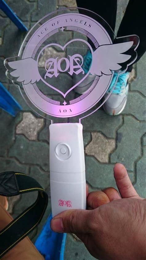 Aoa Official Lightstick aoa hints towards a possible new official lightstick