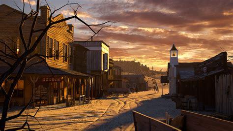 art learning western scene  composition
