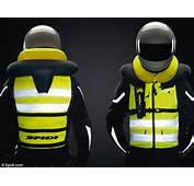 Safety First Company Offers Inflatable Vest For Motorcycle Riders To