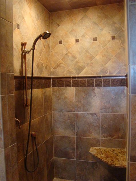 bathroom tile ideas for showers under construction