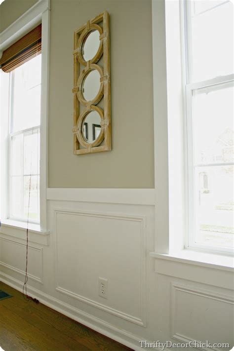 Wainscoting Around Windows by Diy Craftsman Window Trim From Thrifty Decor