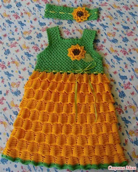 Modele Robe Fillette Au Crochet Gratuit