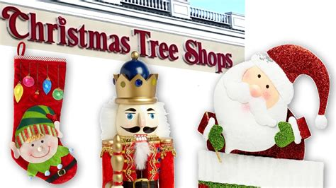 christmas tree shop refund policy tree shops store tour nutcrackers ornaments decorations decor crafts