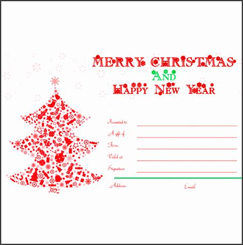 8 Gift Certificate Template In Word Sletemplatess Sletemplatess Merry Word Template