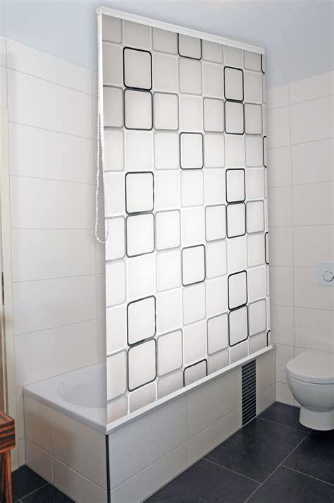 dusch rollo duschrollo duschvorhang badewannenvorhang halbkassette