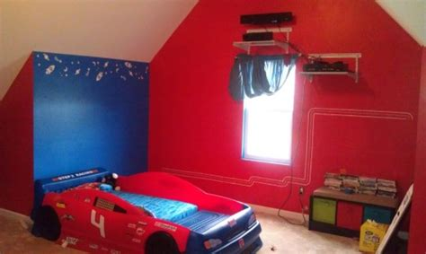 red walls bedroom red wall teen bedroom home trendy