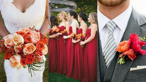 fall wedding colors 2015 fall wedding color palettes 2015 weddingbee