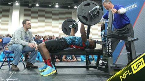 combine bench press results nfl combine results rb