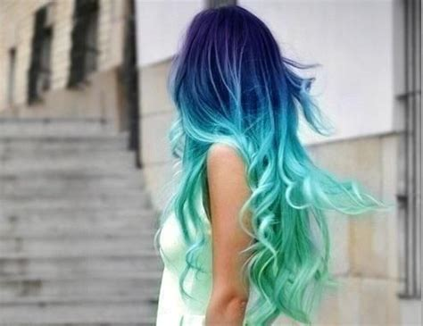 splat ocean ombre splat ocean ombre hair color found on prettydesigns com