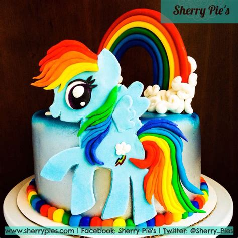 rainbow dash cake decorating ideas pinterest rainbow