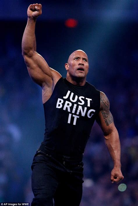 dwayne johnson pumps iron at the gym after 22 hour