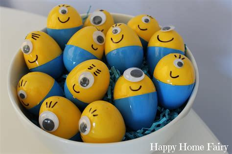 how to make easter eggs how to make minion easter eggs happy home fairy