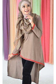 desain baju dress remaja model dress muslimah remaja modern 2 sisi model baju
