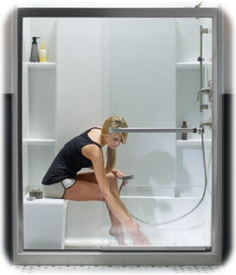 sliding glass shower tub doors guide to the best sliding shower doors framed frameless
