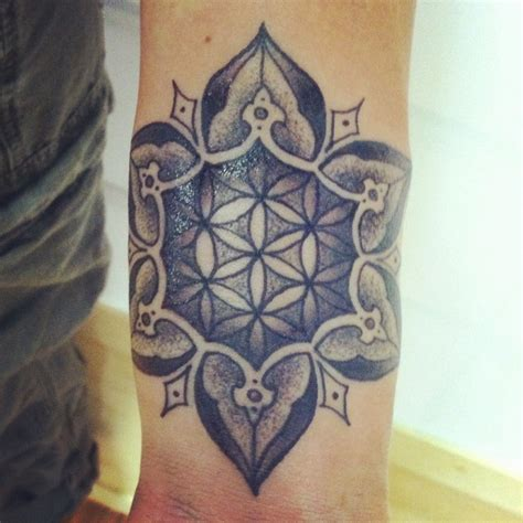 tattoo the flower of life flower of life mandala hole in the sky tattoo woodland