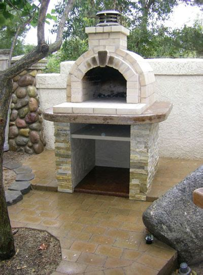 build wood fired pizza oven your backyard backyard brick barbeques dig this design