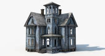 3d Home Modeling 3d Model Old Haunted House
