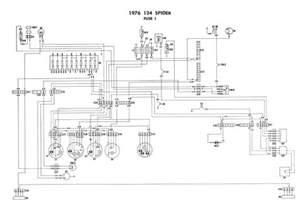 Fiat Spider Wiring Diagram 1976 Fiat Spider Wiring Diagrams