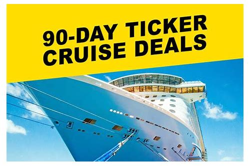 90 day deals cruises