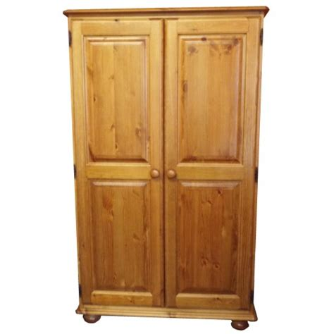 Pine Wardrobe Uk by Finewood Studios Furniture Ltd Julie Pine Small