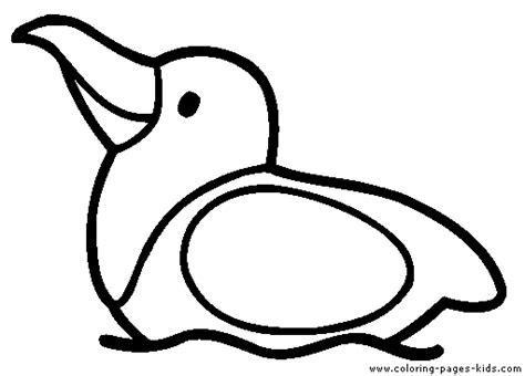 simple bird coloring page simple bird color page