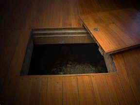 makes horrific discovery trap door then it got
