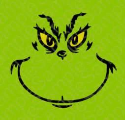 Grinch Face Stencil » Home Design 2017