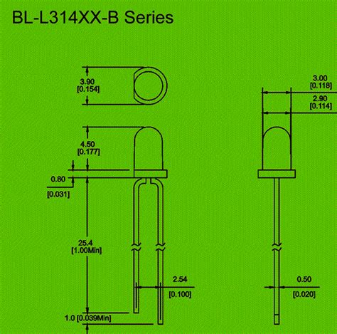 led diode wiring diagram 3mm blinking led diode circuit and dimension