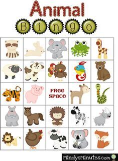 printable rainforest animal cards free printable bingo cards jungle animal picture bingo