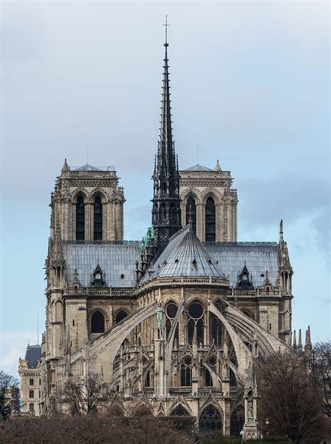 notre dame of paris file notre dame de paris east view 140207 1 jpg wikimedia commons