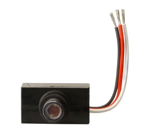 Outdoor Light Photocell Sensor Woods 59408wd Outdoor Hardwire Post Eye Light With Photocell Light New Ebay