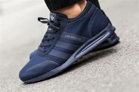 adidas originals los angeles navy sneakers adidas los angeles adidas los