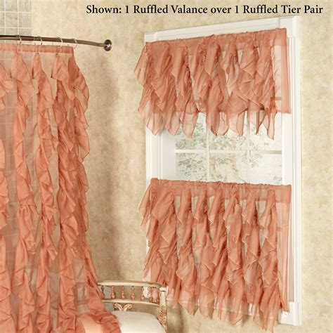 peach colored kitchen curtains peach kitchen curtains