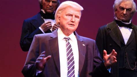 donald trump robot donald trump s creepy disney robot ridiculed the new daily