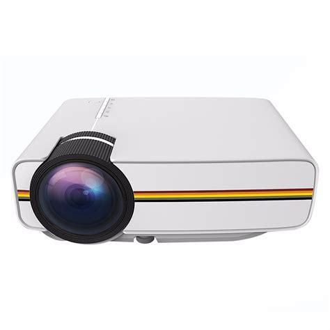 Proyektor Mini Jakarta proyektor mini lcd 800 x 480 pixel 1200 lumens yg400 white jakartanotebook