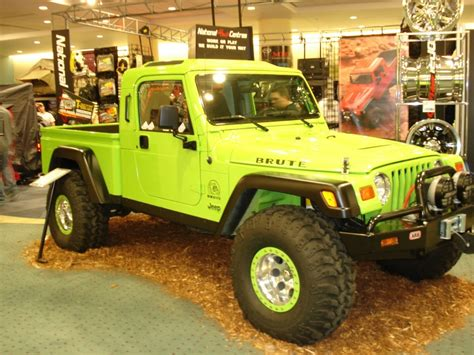 Jeep Enthusiast Jeep Brute At Auto Show Jeep Enthusiast