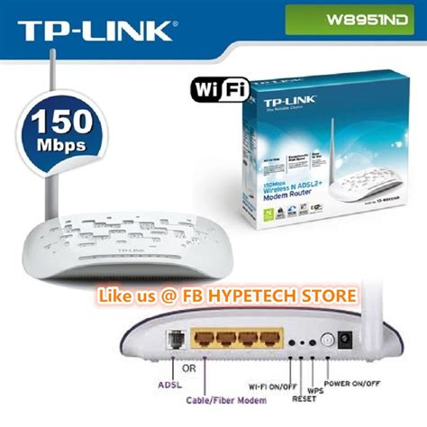Tp Link Td W8951nd Wireless N Adsl2 Modem Router Garansi Resmi 1tahun tp link td w8951nd 150mbps wireless end 7 27 2017 5 15 pm