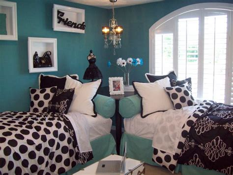 aqua black and white bedroom black white and aqua girls bedroom for the home pinterest
