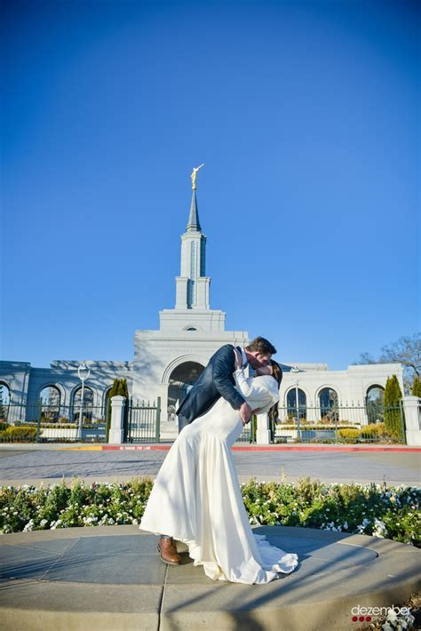 Destination Weddings   Sacramento LDS Temple Wedding